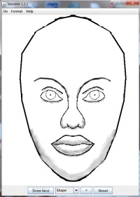 Identikit Face drawing summary